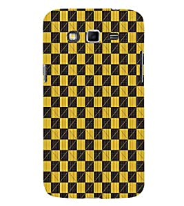 EPICCASE yellow Rubik Mobile Back Case Cover For Samsung Galaxy Grand Prime (Designer Case)
