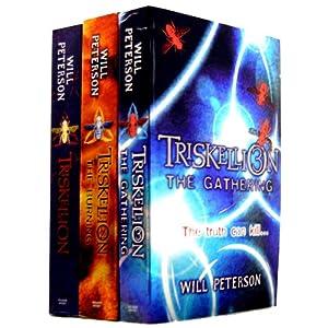 Will Peterson - Triskellion Advanture 3 Books Collection Set RRP £20.97 (Triskellion, Triskellion 2: The Burning, Triskellion 3: The Gathering)
