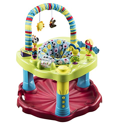 Check Out This Evenflo ExerSaucer Bouncing Barnyard Saucer