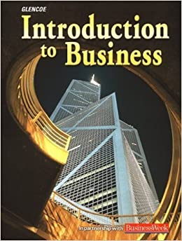 introduction to business glencoe pdf