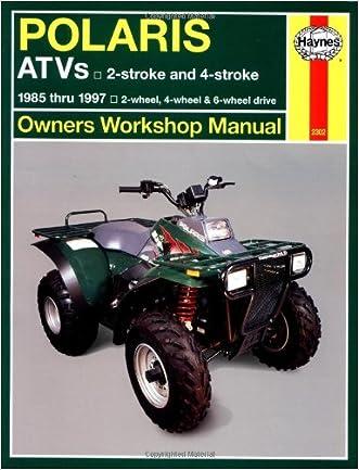 Polaris ATV 250 500cc, '85'97 (Haynes Repair Manuals) written by Max Haynes