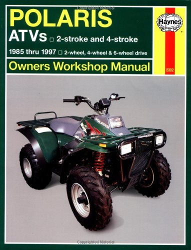 Polaris 250 To 500 Cc Atvs: 2 Stroke & 4 Stroke 1985 Thru 1997 (Owners' Workshop Manual) front-526114