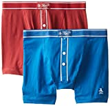 Original Penguin Mens 2-Pack Earl Knit Boxer Brief Set