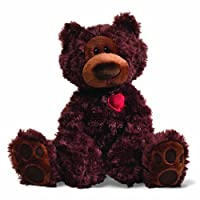 "Gund Valentine's Philbin Teddy Bear 12"" Plush by Gund"