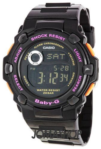 Casio Baby G Black Ladies Watch BG3000A-1HDR