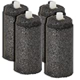 Lifesaver Bottle Ultra Filtration Water Bottle Replacement Carbon Inserts (4-pk) (Color: Black, Tamaño: One Size)