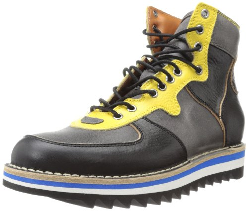 DSQUARED2 Men's Airforce Laced Boot,Nero,40 EU/8 M US