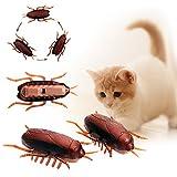 Elektronische Vibrationen Kriechen Kakerlaken für Katzen Interaktives Spielzeug