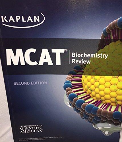 Kaplan MCAT Biochemistry Review - New Edition for 2016 Test - MM5113B