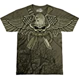 7.62 Design Men's T Shirt USMC Recon 'Swift, Silent, Deadly'