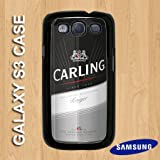 G3-11 - Black - Carling Lager Beer Can - Samsung Galaxy S3 Hard Plastic case - Quirky, Novelty, Birthday xmas Gift