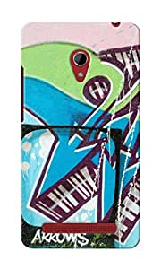 KnapCase Abstract Graffiti Designer 3D Printed Case Cover For Asus Zenfone 6