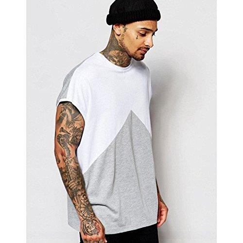 (エイソス) ASOS メンズ トップス Tシャツ ASOS Super Oversized Sleeveless T-Shirt With Triangle Cut And Sew 並行輸入品