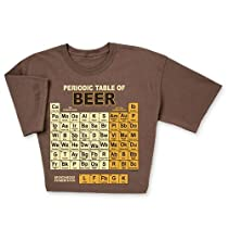 Periodic Table of Beers T-shirt