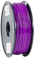 eSun PLA 3D Printer Filament, 3 mm Diameter, 1 kg Spool, Purple from Shenzhen Esun Industrial Co., Ltd.