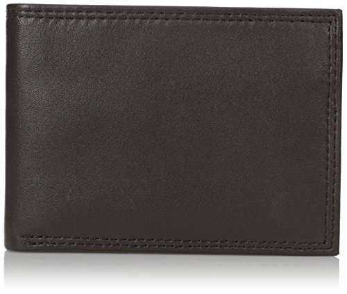 buxton-mens-emblem-double-id-billfold-wallet-brown-one-size