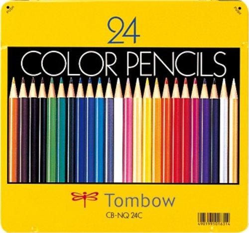 缶入色鉛筆24色 NQ