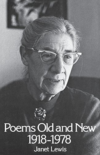 Poems Old & New 1918-1978, Lewis, Janet