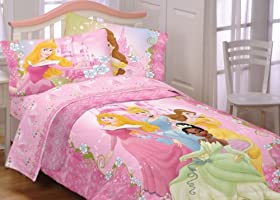 Great Disney Dainty Princesses Twin Single Comforter Bedding Set Childrens Bedding Collections price