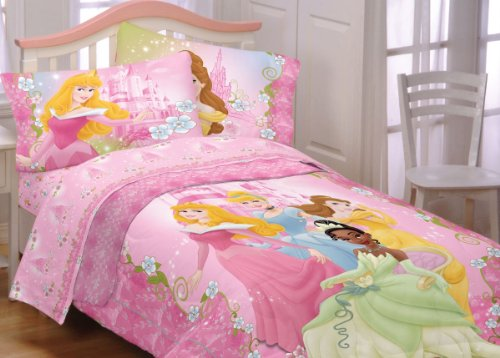 Disney Dainty Princesses Twin-Single Bedding Sheet Set