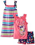 Komar Kids Girls 7-16 Movie Night Pajama Set