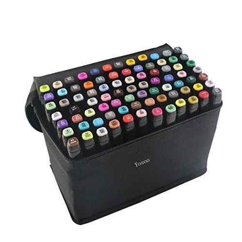 yosoo-40-60-80-assorted-colors-art-twin-tip-1mm-6mm-mark-pens-art-sketch-graphic-marker-pen-set-penc