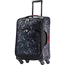 American Tourister Disney Mickey Mouse Multi-Face Softside Spinner 21