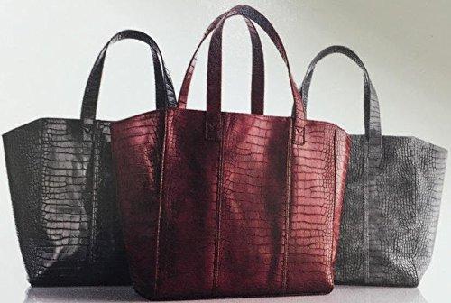 neiman-marcus-faux-crocodile-tote-bag-black