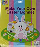 CARDBOARD Make Your Own Childrens Easter Bonnet Kit - Complete Set Ready To Use!