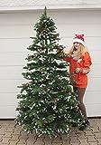 ***RÄUMUNGSVERKAUF*** Künstlicher geschmückter Weihnachtsbaum 180 cm NEU Edeltanne sehr hochwertig