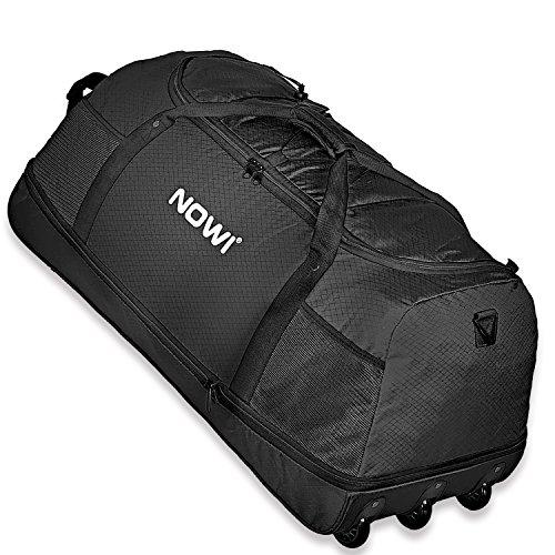 Nowi-XXL-Riesen-Reisetasche-mit-3-Rollen-Volumen-100-135-Liter-Rollenreisetasche-81-cm-black