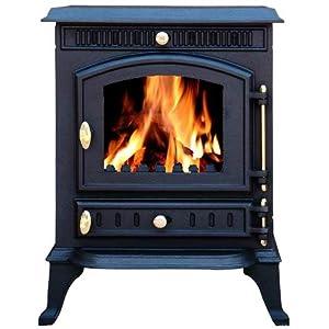 9fdad45c946 Cast Iron Log Wood Burner Stove JA010 7KW Multi Fuel Fire Place Massive  saving