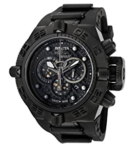 Invicta Men's 6582 Subaqua Noma IV Chronograph Black Polyurethane Watch