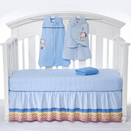 HALO SleepSack 5-Piece Bumper-Free Crib Set, Dog (Discontinued by Manufacturer) - 1