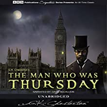The Man Who Was Thursday (       UNABRIDGED) by G. K. Chesterton Narrated by David McCallion