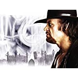WWE The Death Man Undertaker ON FINE ART PAPER HD QUALITY WALLPAPER POSTER
