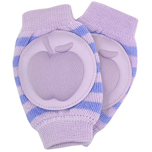 New Baby Crawling Knee Pad Toddler Elbow Pads 805523 Purple - Blue