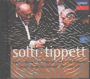 Sir Michael Tippett: Byzantium;  Symphony No. 4