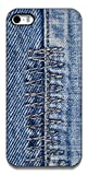 The Racoon Lean Denim Zigzag hard plastic printed back case / cover for Apple Iphone 5c
