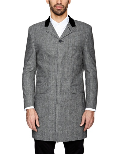 Gabicci Ferdinand Men's Coat Grey Check 42L