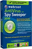 Webroot AntiVirus with Spy Sweeper 2010, 3 user (PC)