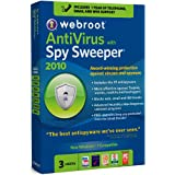 Webroot AntiVirus with Spy Sweeper 2010, 3 user (PC)by Webroot