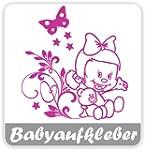 Babyaufkleber mit eigenem Spruch (JHB...