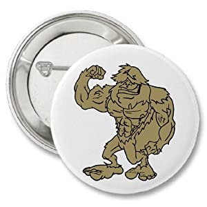Sasquatch Big Foot Button