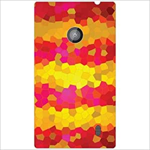 Design Worlds - Nokia Lumia 520 Designer Back Cover Case - Multicolor Phone...