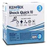 Kem-Tek 26449048221 10-Pack Shock Quick 10 for Swimming Pools