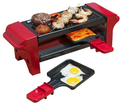 Bestron AGR102 Gril/Raclette pour 2 Personnes