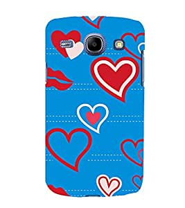 EPICCASE Kisses & Loves Mobile Back Case Cover For Samsung Galaxy Core (Designer Case)