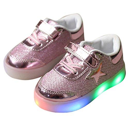 hibote-Muchachos-del-nio-de-las-muchachas-de-luz-para-arriba-los-zapatos