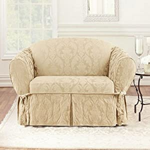 Matelasse Damask Sofa Cover Sofa Slipcovers